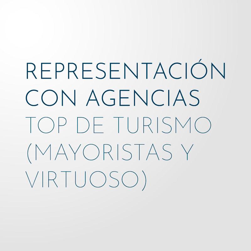 Representacion Agencias Top de Turismo