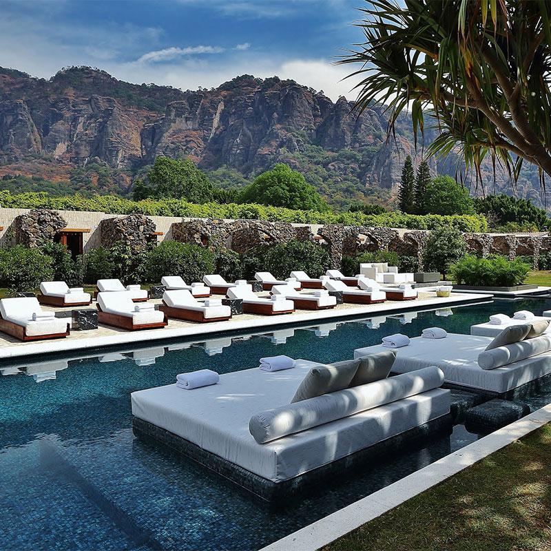 Hoteles de lujo Tepoztlan