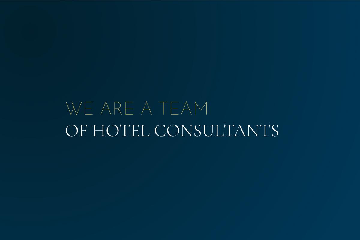 Team of hotel consultants